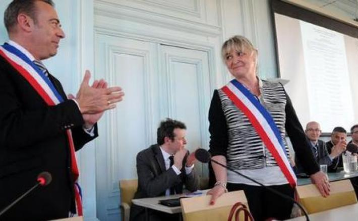 Corinne Garcia, première adjointe à Blois, est une des quatre seules femmes vice-présidentes d'Agglopolys, sur 15. - (Archives NR)