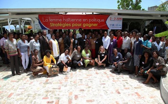 ESTRATEGIAS PARA GANAR: PARTICIPACIÓN POLÍTICA DE LAS MUJERES HAITIANAS