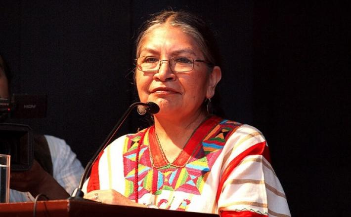 Tarcila Rivera is a Quechuan activist from Ayacucho, Peru who has devoted over 20 years of her life to defend and seek recognition and acknowledgment of Peruvian indigenous peoples and cultures.
