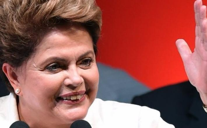 Dilma Roussef is re-elected.