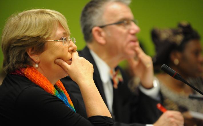 UN Women Executive Director Michelle Bachelet speaks at CSW