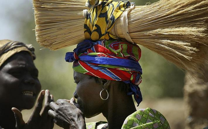 Chadian women hold political weight in Chad.  -  Copyright © africanews Jerome Delay/AP2008