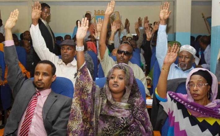 Teen girls in Mogadishu