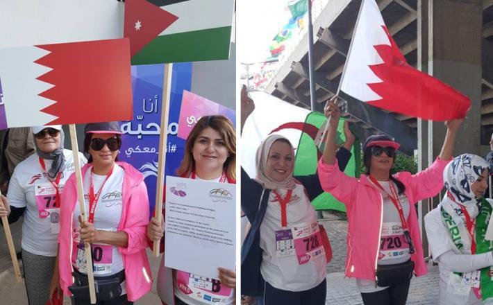 شبكة البرلمانيات العربيات تشارك في ماراثون المناصفة السياسية للنساء