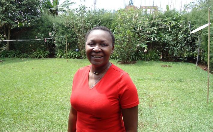 """Esperance Mawanzo, alias """"Maman Parité""""-Photo/Facebook"""