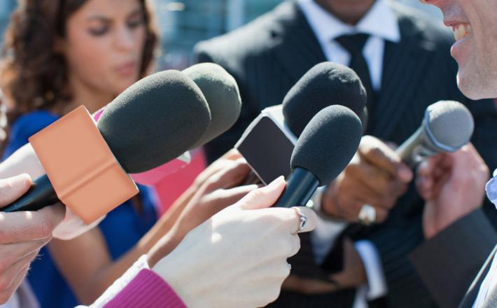 Femme Journaliste politique