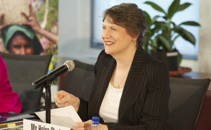 Helen Clark, UNDP administrator