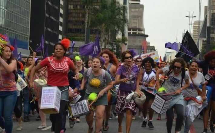La caravane féministe-Photo Verkami