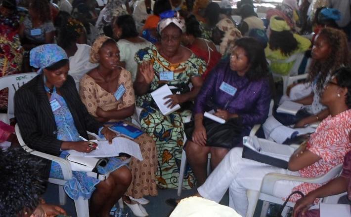 Les femmes en conclave-Cameroun