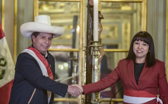 (PRESIDENCIA DEL PERU/AFP)
