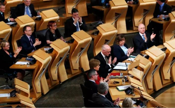 Will we see more women, more Coloured, more disabled people on the Holyrood benches after the 6 May election? REUTERS/Russell Cheyne