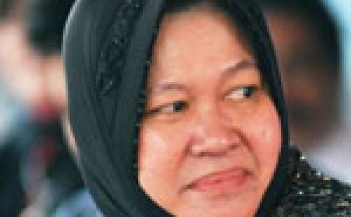 Tri, Rismaharini, Mayor of Surabaya