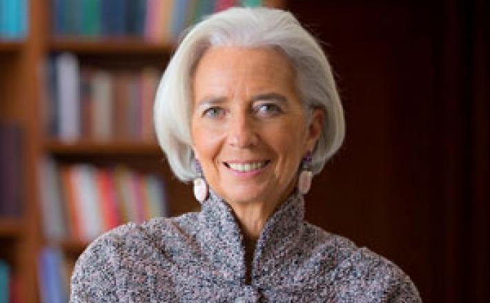Christine Lagarde-Photo FMI