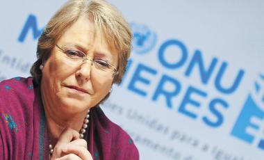 Michelle Bachelet-Foto fuente LaTercera
