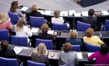 The new Bundestag is larger than ever, but the number of female parliamentarians is disappointingly low