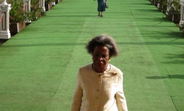 Genevieve Tjoues, Vice présidente du Sénat, Cameroun