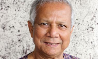 Professeur Muhammad Yunus-Photo: Yunus Centre/Nasir Ali Mamun