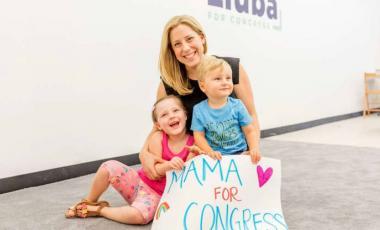 Vote Mama CEO Liuba Grechen Shirley.Photo courtesy of Gerri Hernandez.