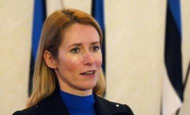 Kaja Kallas has stressed gender balance in forming the new cabinet, placing several women in key positions. Photograph: Janis Laizans/Reuters