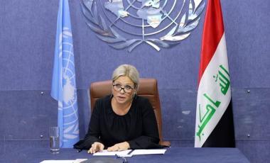 الممثلة الخاصة للأمين العام للأمم المتحدة في العراق جينين بلاسخارت