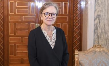 Najla Bouden Ramadhane has been named Tunisia's first female prime minister. President Kais Saied appointed her to lead a transitional government after her predecessor was sacked and parliament suspended. Slim Abid/AP