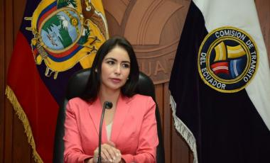 Denisse Roldes, Alcaldesa de Milagro-Foto Gobierno Municipal de Milagro