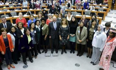 Martin Schulz Women conference