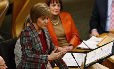 First Minister Nicola Sturgeon/©Andrew Cowan/Scottish Parliament