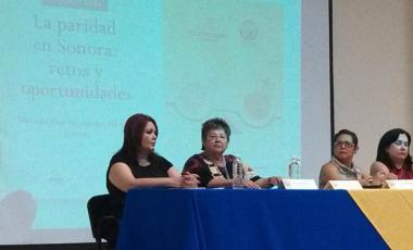 La presidenta de la Fundación Sonorense de Liderazgo, Olga Aideé Flores Velázquez. ©Facebook/Olga Haydeé Flores Velásquez
