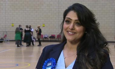 Natasha Asghar said she hopes to see people from more diverse backgrounds in Welsh politics.