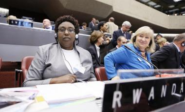 131th meeting of the IPU, Geneva, October 16, 2014.©IPU/Pierre Albouy