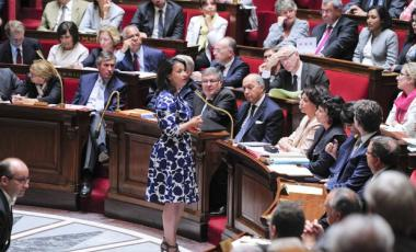 Sexisme a l'Assemblee Nationale Véronique Massonneau