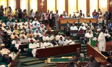 Nigeria cannot afford the high cost of creating additional seats in its National Assembly. Sunday/Aghaeze/AFP via Getty Images