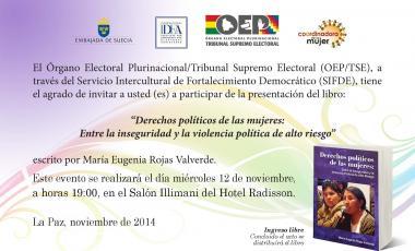 Derechos políticos de la mujer: Entre la inseguridad y la violencia política de alto riesgo