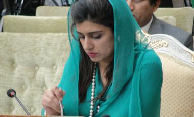 Women in politics in Pakistan