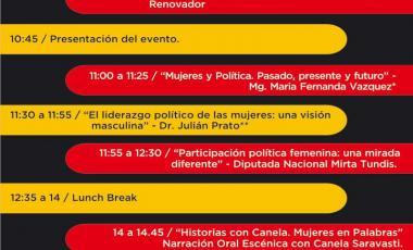 Mujeres, politica y liderazgo