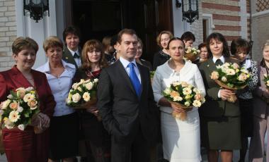 Women's day in Russia