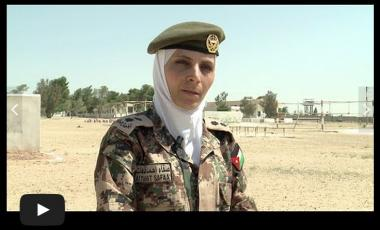 The growing role of Jordanian servicewomen