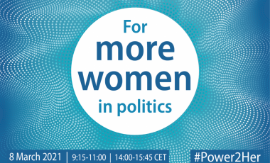 For more women in politics