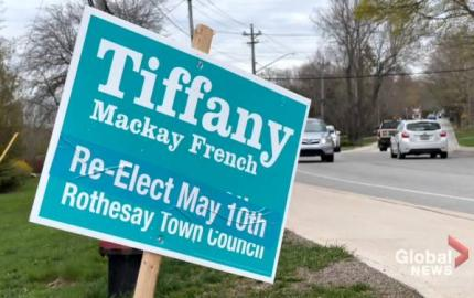 WATCH: It's now less than a week until municipal elections are held in much of New Brunswick. As candidates make their pitches to voters, one Saint John-area candidate is making an entirely different appeal to protect her family's privacy. Travis Fortnum