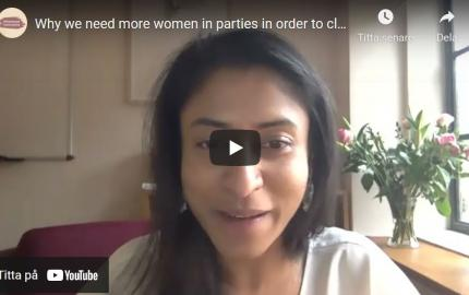 Why we need more women in parties in order to close the political gender gap with Tanushree Goyal