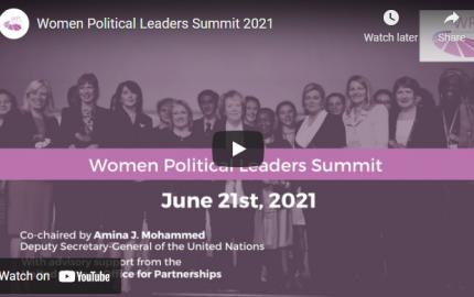 Women Political Leaders Summit 2021