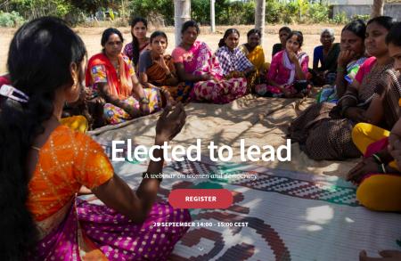 Webinar elected to lead