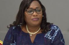 © Autre presse par DR La présidente de la Commission nationale des Droits de l'Homme de Côte d'Ivoire, Namizata Sangaré