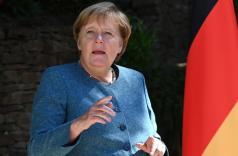Angela Merkel souhaite faire avancer la cause des femmes dans le monde du travail allemand.. CHRISTOPHE SIMON/AFP