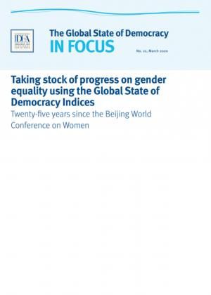 Taking stock of progress in gender equality