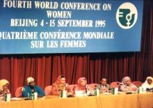 La quatrième conférence mondiale sur les femmes