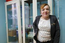 Elena Crasmari, local counselor in Dolna village, Moldova. Photo: UN Women/ Tara Milutis
