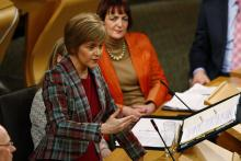 First Minister Nicola Sturgeon/©Andrew Cowan/Scottish Parliament