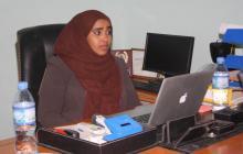 Somali Minister Anisa Abdulkadir Haji Mumin